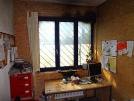 Die zerstörten Innenräume
