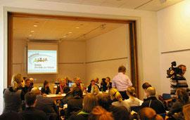 Pressekonferenz vom 4.3.2009 zur Gründung des Bündnisses Pro Ethik im GEW-Haus