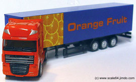 1-87 Trucks Holland-Oto (DAF XF105) Orange Fruit 1-87