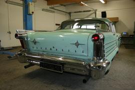 Mit dem 1958er Olds endete die Flossenähra bei Oldsmobile