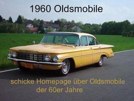 klick auf das Bild. Eine Hommage an die Fahrzeuge von Oldsmobile des Jahres 1960