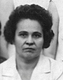 Коломасова Ольга Павловна (старшие классы - история), 60-70-е гг., фото - июнь 1969г.