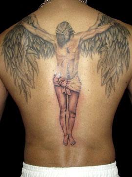 羽をつけたキリスト