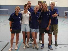 1.Jugendmannschaft v.l.: Michaela Ritter, Ina Backhaus, .......