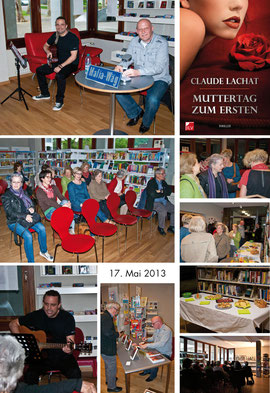 Lesung am 17.5.2013 in der Bibliothek Ettingen