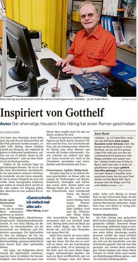 BZ Donnerstag, 18. April 2013 | Nordwestschweiz Baselland/Schwarzbubenland Seite 27