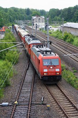 185 248, 241 697 und 294 905 mit Übergabe in Klingenberg-Colmnitz