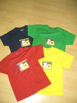 T-Shirt's 5.-, langarm Shirt's 7.-