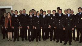 Die neugewählte Vorstandschaft mit den Ehrengästen
