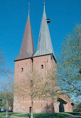 Außenansicht der Kirche St. Nicolai