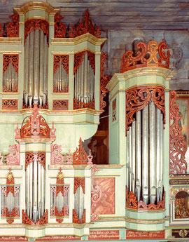 Ausschnitt Orgelprospekt