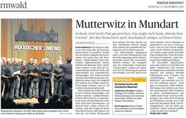 Bergische Morgenpost 12.11.2012