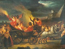 Angelo Inganni, Olio su tela, collezione privata