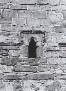 3 Fenster an der Westseite des Turmes