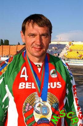 Nikolai Bojko mit der Silber-Medaille