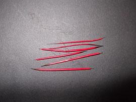 Quill (hier rot gefärbt)