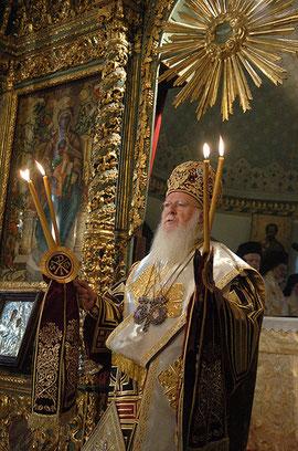 Sa Toute Sainteté BARTHOLOMEOS Ier  Archevêque de Constantinople, Nouvelle Romeet Patriarche Œcuménique