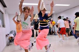 女踊りは息が合わないと(^^)