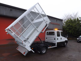 Caged Tipper Bodies By Spenborough Engineering