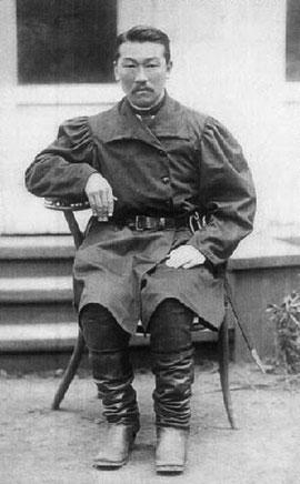 Голова Батурусского улуса Е.Д. Николаев. 1883. Санкт-Петербург.
