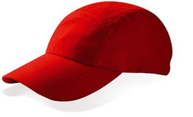 Gorra roja microfibra