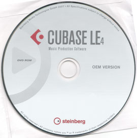 CUBASE 4 LE- £12.99 - ALSO NOW OFFERING SPECIAL DEAL ON LE4 TUTORIAL SEE BELOW
