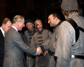 The Prince of Wales at the RSC.