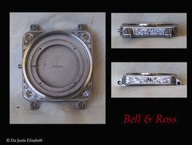 Gravure sur montre Bell & Ross