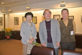佐藤さん中央と小幡さん左