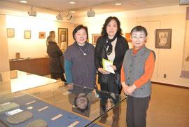 お茶の生徒さん須藤さんと友人の方