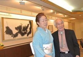 4階の梅木仙隆先生と佐藤さん
