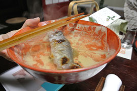 岩魚酒 2合のお酒ペロリ