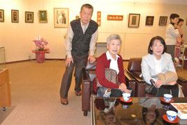 斉藤さんと長女まさ子さん