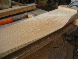 pale eolienne en bois