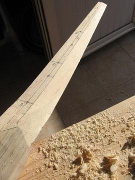 sculpter le plan de fuite pale eolienne