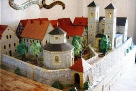Model des Klosters