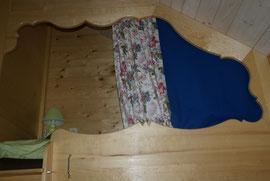rideau passant tringle cachée