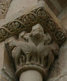Grifos en Santa Catalina de Azcona