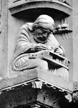Pitágoras en la Catedral de Chartres. La Geometría era un modo de establecer un vínculo entre los humanos y los más íntimos secretos del cielo.