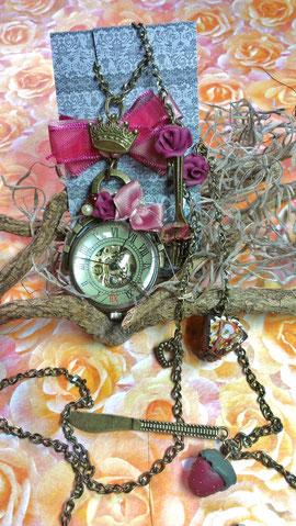 Mechanische Uhr Erdbeertraum 22d#