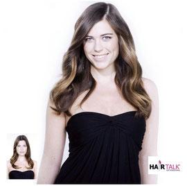 Strähnen mit Hairtalk Extensions