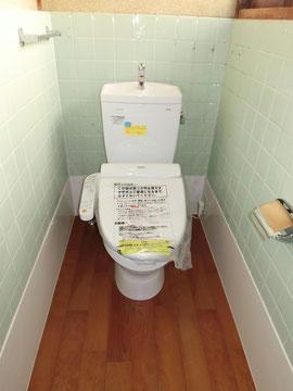 和式トイレを洋式に 岐阜
