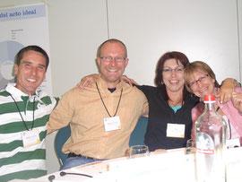Rainer, Martin, Anja und Andrea aus der Schweiz