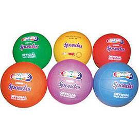 Ballons de volley-ball enfants en caoutchouc Spordas à prix discount pour jouer au volley-ball.
