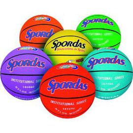 Ballons de basket-ball pour enfants multicolorés et à prix discount