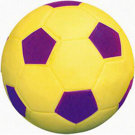 Ballon de football en vinyle pour enfants, idéal pour les jeux sportifs avec les enfants.