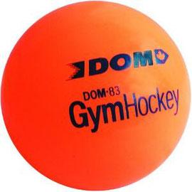 Balle de hockey pour jeux de crosse de hockey de marque DOM à prix discount!