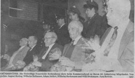 Ehrung der Gründungsmitglieder beim 60-jährigen Jubiläum (OHZ)