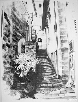 Vellano 1 Bleistift 60x45 cm