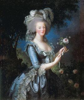 フランス王妃マリー・アントワネット(1783年)